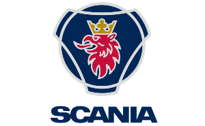 Scania Logotype på Bilab Lastbilar i Kungälv