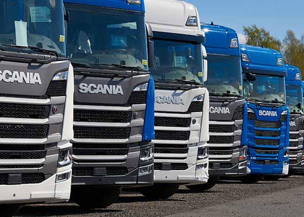 Återförsäljare av Scania lastbilar