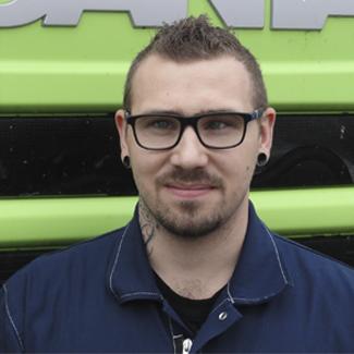 Mattias Elofsson Verkmästare på Bilab Lastbilar i Kungälv